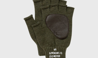 Supreme Fingerless Gloves
