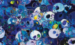 Takashi Murakami 'Homage To Yves Klein' Exhibition Preview