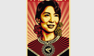 'The Lady' Movie Poster by Shepard Fairey