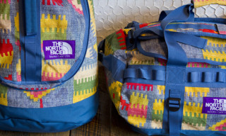 The North Face Purple Label 'Kilim Pattern' Luggage Collection