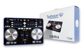 "colette x Vestax ""Typhoon"" Midi USB Controller"