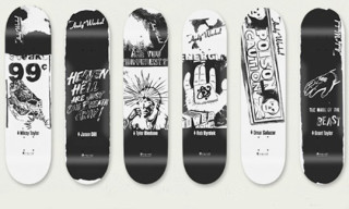 Alien Workshop x Andy Warhol Black and White Skate Decks