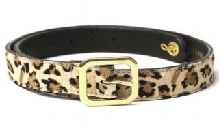 Grin & Barrett Leopard Belt