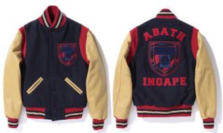 Bape x Ebbets Field Flannels Varsity Jacket