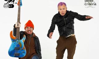 Damien Hirst x Flea Spin Bass Guitars