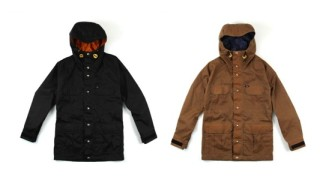 DQM x Crescent Down Works Waxed Cotton Montagne Parka