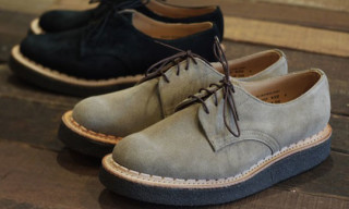 George Cox for British Remains Suede Creepers