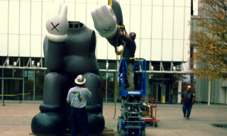 "KAWS ""Down Time"" Companion Install"
