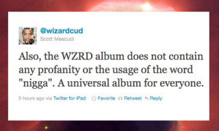 Kid Cudi Announces WZRD