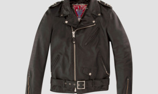 Schott NYC for Gaga's Workshop Motorcycle Jacket