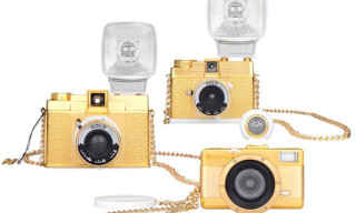 Lomography Goes Bling – The Gold Special Edition Cameras