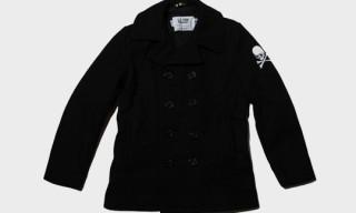 mastermind JAPAN x Schott Pea Coat