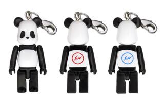 Medicom x fragment design 50% Panda Bearbrick