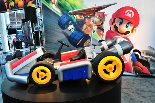 Nintendo X West Coast Customs Full Size Mario Karts