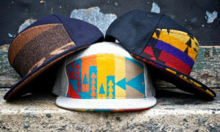 Ronnie Fieg x Pendleton x Quintin 6 Panel Caps