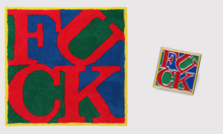 G1950 x Supreme 'F*ck' Rug & Pin Available