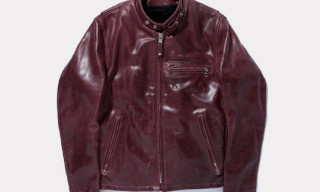 Swagger x Schott 641 Leather Single Riders Jacket
