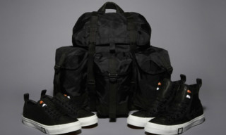 UNDFTD x Cons Ballistic Black Capsule Collection