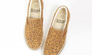 Beauty & Youth x Vans Leopard Slip-On