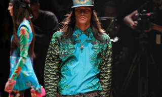 Versace and H&M Runway Show New York