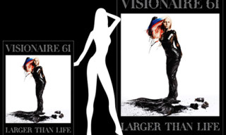 Visionaire 61 'Larger Than Life' – World's Biggest Magazine