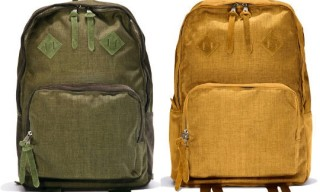 White Mountaineering Wardrobe Selspan Corduroy Backpacks
