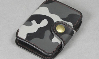 Arts & Crafts x Matt Katayama Camouflage Leather Accessories
