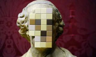 Banksy 'Cardinal Sin' Sculpture at Walker Art Gallery