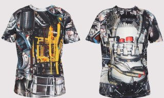 Christopher Kane Mechanics Print T-Shirts