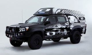 Custom Toyota Trucks at SEMA