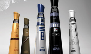 Evian Star Wars Water Bottles by Mandy Brencys