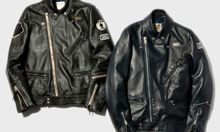fragment design x Neighborhood x Lewis Leathers Riders Jacket