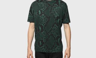 Jil Sander Python Print T-Shirts