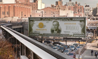 John Baldessari's $100,000 Bill Board at the High Line