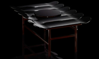 Mingskatable Table by Jean-Charles de Castelbajac & LAQ Executive