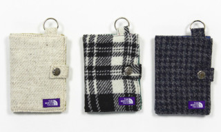 nanamica x The North Face Purple Label Harris Tweed Wallets