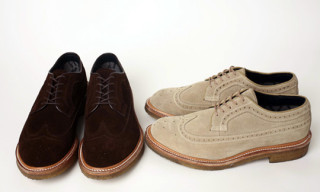 nonnative x Regal 10th Anniversary Gore-Tex Wing Tip Brogue