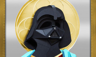 Holy Paper crafted Darth Vader by Lobulo Design