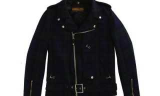 Schott NYC Wool Perfecto Motorcycle Jacket