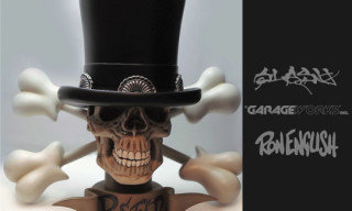 "Garageworks Industries x Slash x Ron English ""REFNR"" Sculpture"