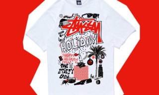 Todd James aka REAS for Stussy Holiday Collage T-Shirt