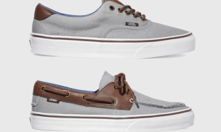Vans Classics 'Canvas & Leather' Pack Spring 2012