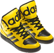 sports shoes 5732e 4d4ae adidas Originals by Jeremy Scott Spring Summer 2012 Footwear