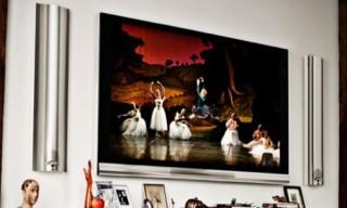 Bang & Olufsen BeoVision 12-65 Plasma TV & BeoLab Speakers
