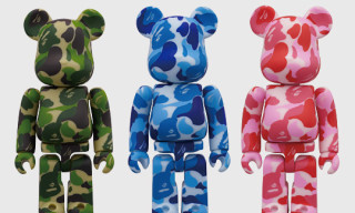Bape x Medicom Camouflage Bearbrick Series