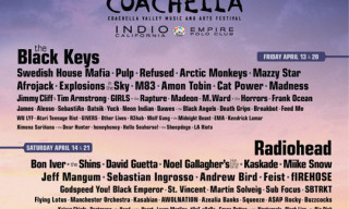 Coachella 2012 Only 90 Days Away – Here is the Line-Up