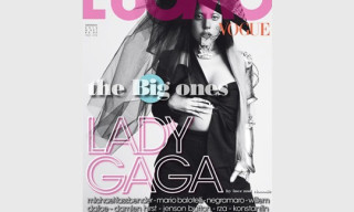 Lady Gaga Covers L'Uomo Vogue