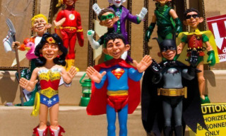 DC x MAD Magazine 'Just-Us League of Stupid Heroes' Action Figures