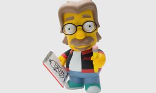 Kidrobot x The Simpsons 'Matt Groening' Vinyl Toy