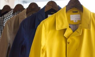 nanamica Gore-Tex Soutien Collar Coat Spring 2012